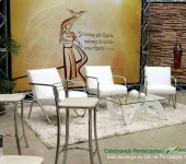 Programa Celebrando Pentecostes tem novo cenário
