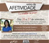 Retiro de Afetividade traz missionários da Canção Nova ao RS