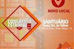 Congresso Estadual Jubilar muda de local