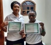 IEAD certifica alunas angolanas