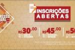 Inscrições abertas para o Congresso Estadual Jubilar